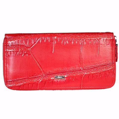 Кошелёк-клатч красный женский Coscet нат.кожа CS25-26B