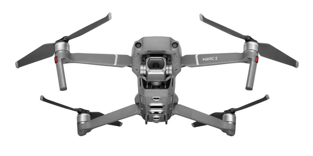 Квадрокоптер DJI Mavic 2 Pro вид снизу