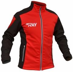 Утепленная лыжная куртка Ray Race WS Red-Black