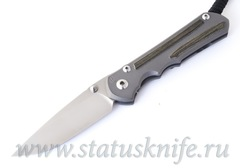 Нож Chris Reeve Sebenza Large 25 black canvas micarta