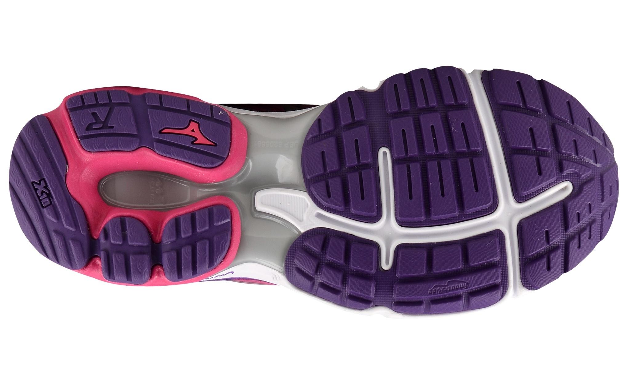 Женские беговые кроссовки Mizuno Wave Rider 19 (J1GD1603 03) розовые фото