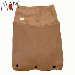 Флисовая слинговставка-накидка для мамы и малыша МаМ Сold Weather Insert, Кофейный (Baby Limpkin)