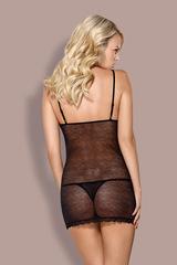 Сорочка эротическая Figaro облегающая прозрачная и стринги