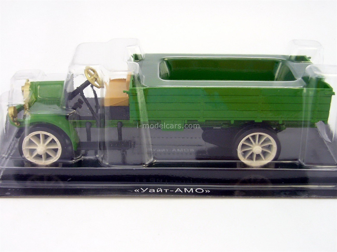 White-AMO TAD 1919 green 1:43 DeAgostini Auto Legends USSR Special issue #2
