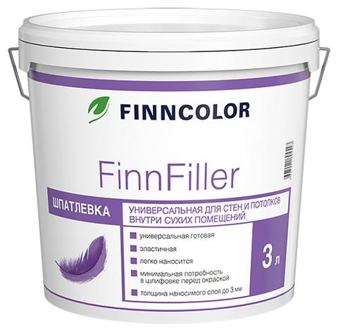 Finncolor FinnFiller/Финнколор ФиннФиллер Шпатлевка