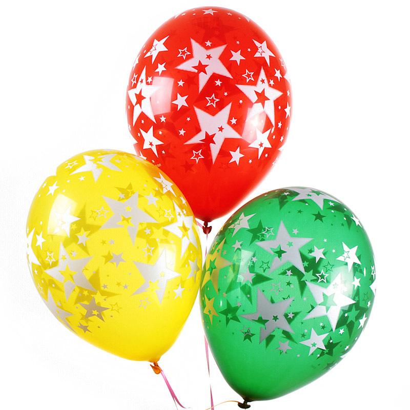 Новогодняя открытка, воздушные шары фото картинки нарисованные