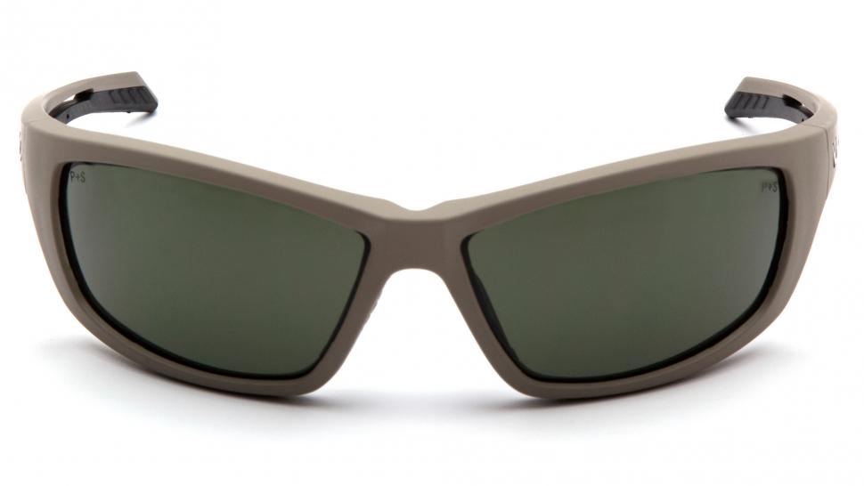 Очки баллистические стрелковые Pyramex Howitzer VGST1322T Anti-fog темно-зеленые 10%