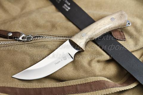 Охотничий нож Гюрза-2 z90 Полированный Орех