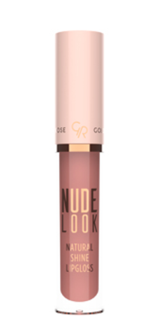 Golden Rose Блеск для губ NUDE LOOK NATURAL SHINE тон 02