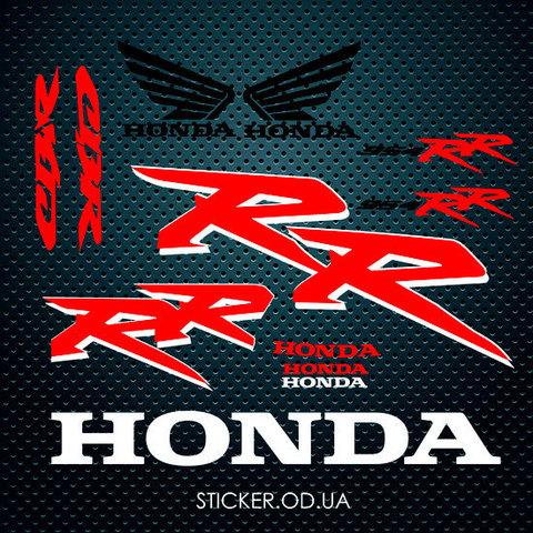 Набор наклеек HONDA CBR 954 RR, 2002