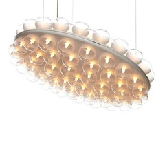 Prop Light Double Round Suspension Light By Bertjan Pot, from Moooi