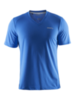 Мужская спортивная футболка Craft Training Basic 1904030-1314 синяя
