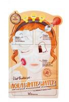 Elizavecca Маска д/лица трехэтапная увлажняющая 3-step Aqua White Water Illuminate Mask Sheet
