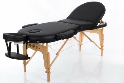 Массажный стол RESTPRO VIP OVAL 3 Black (EU)