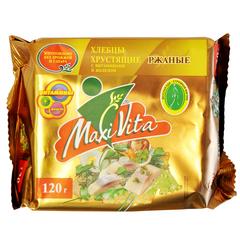 Хлебцы хрустящие ржаные с витаминами и железом  Maxi Vita 150 г