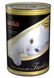 уд Leonardo Консервы для кошек Мясо с Индейкой 12x400 г. (743545)