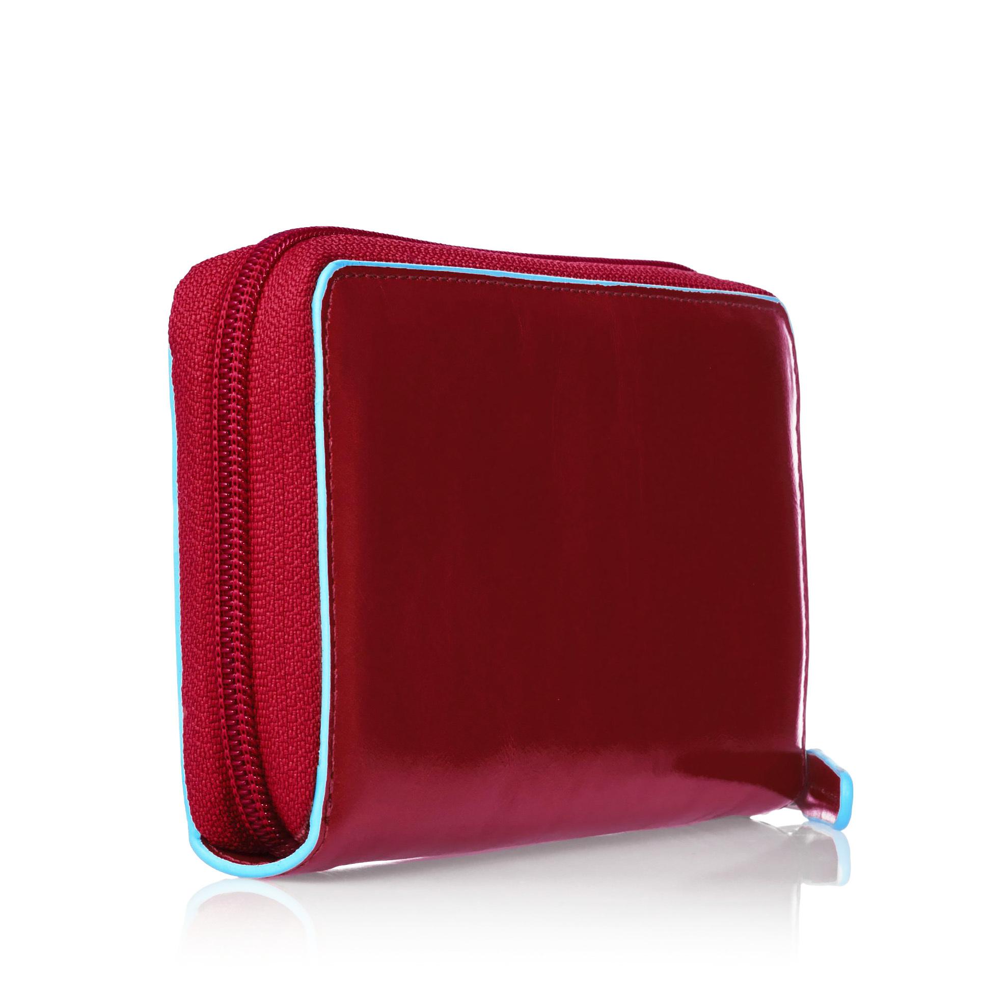 Портмоне Piquadro Blue Square, цвет красный, 18x9,5x2,5 см (PD3229B2/R)