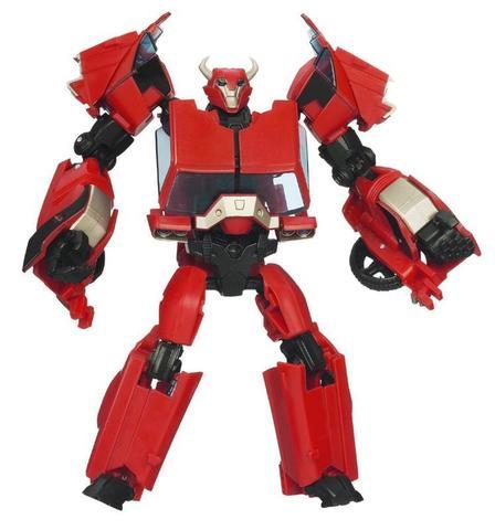 Робот-Трансформер Клиффджампер (Cliffjumper) делюкс Первое издание - Трансформеры Прайм, Hasbro