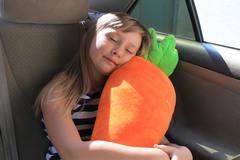 Подушка на ремень безопасности Клювонос Морковка