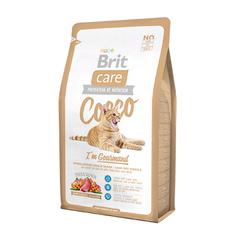 Brit Care Cat Cocco Gourmand беззерновой, для кошек-гурманов