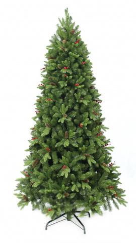 Ёлка Beatrees Winter Melody шишки и ягоды 120 см. зелёная