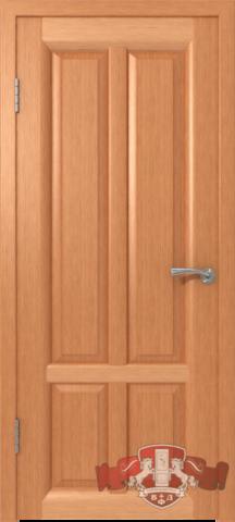 Дверь Владимирская фабрика дверей 12ДГ6, цвет анегри, глухая