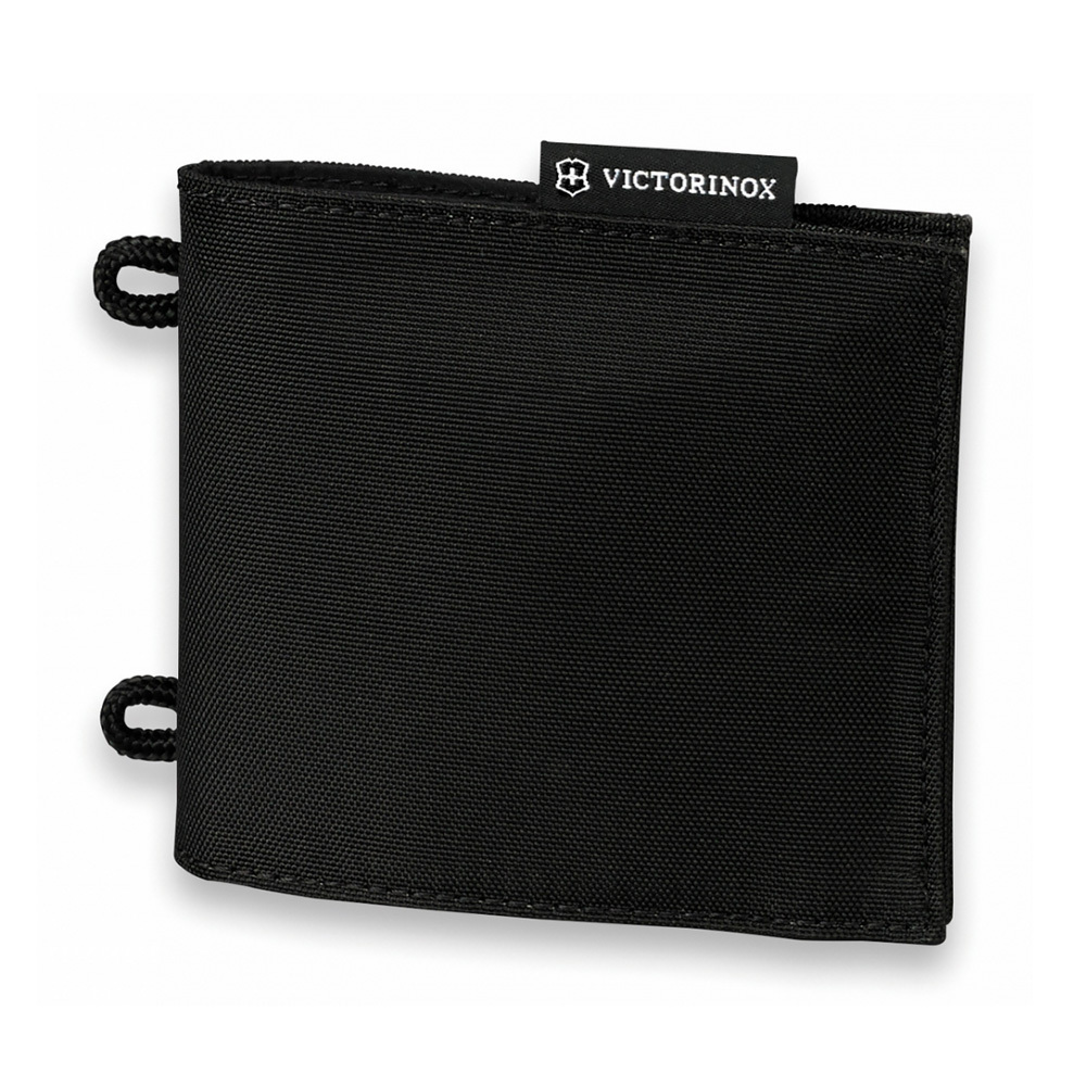 Кошелёк на шею Victorinox Convertible Travel Wallet чёрный, 13x1x11 см