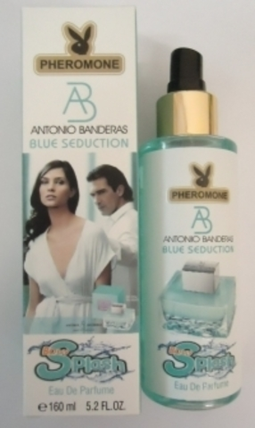 ЛОСЬОН ДЛЯ ТЕЛА С ФЕРОМОНАМИ ANTONIO BANDERAS BLUE SEDUCTION, 160ML
