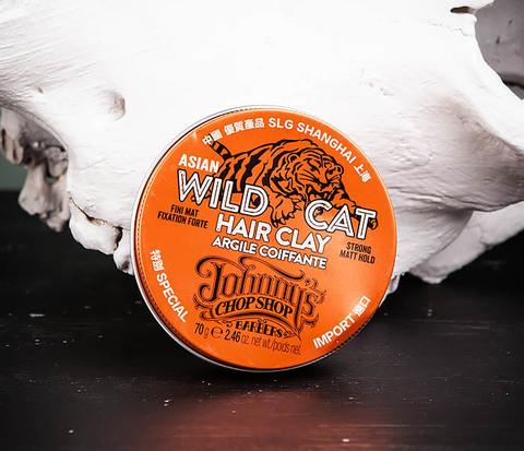 Матовая глина «WILD CAT»  для волос сильной фиксации (70 гр.)