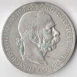 P4489, 1907, Австрия, 5 крон, Франц Иосиф