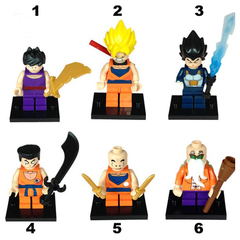 Minifigures Dragon Ball Blocks Building