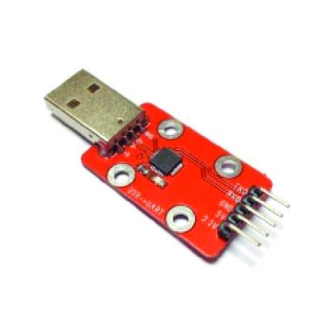 Конвертер USB-UART 3.3V, 5V на базе CP2102 (Quatro-модуль)