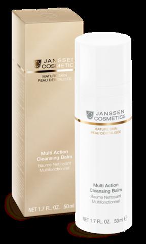 Janssen Multi action Cleansing Balm - Мультифункциональный бальзам для очищения и регенерации кожи 4 в 1
