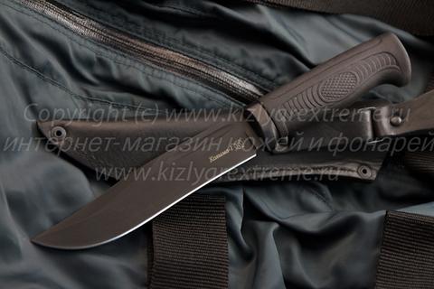 Тактический нож Колыма-1 z90 Черный Эластрон