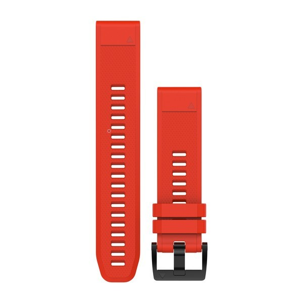 Силиконовый ремешок Garmin QuickFit 22 мм красный