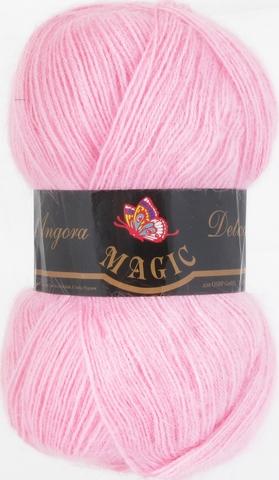Пряжа Angora Delicate Magic 1123 Светло-розовый - купить в интернет-магазине недорого klubokshop.ru