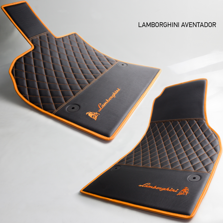 Vestis eco-leather floor mats for Lamborghini