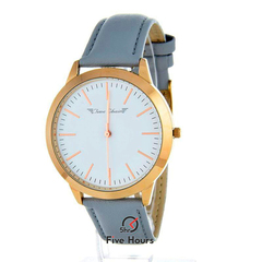 TIME CHAIN marylebone leather rose gold 70006/rg