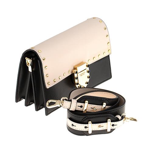 Кожаная сумка Tosca Blu Pollock Ivory, черный, Italy, фото 4