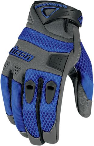 Мотоперчатки - ICON ANTHEM (синие)