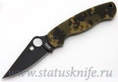Нож Spyderco Paramilitary 2 C81GPCMOBK2 camo