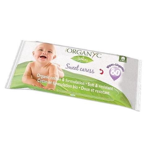 Детские влажные салфетки | Organyc
