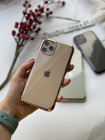 Чехол iPhone 11 Baseus Shining Case /gold/
