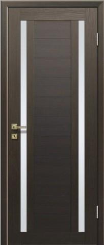 > Экошпон Profil Doors №15X-Модерн, стекло матовое, цвет венге мелинга, остекленная