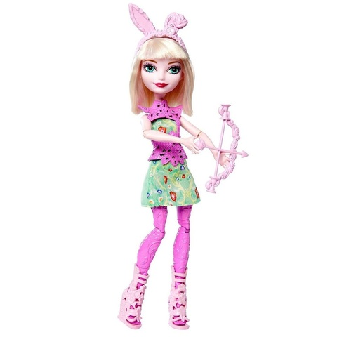 Кукла Эвер Афтер Хай Банни Бланк (Bunny Blanc) - Стрельба из лука, Mattel