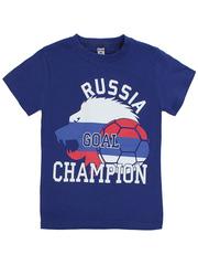 BK003-16 футболка детская, синяя
