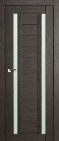 Дверь Profil Doors №15Х, стекло матовое, цвет грей мелинга, остекленная