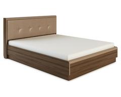 Кровать ИРАКЛИЯ-1800 с мягкой спинкой и подъемным механизмом