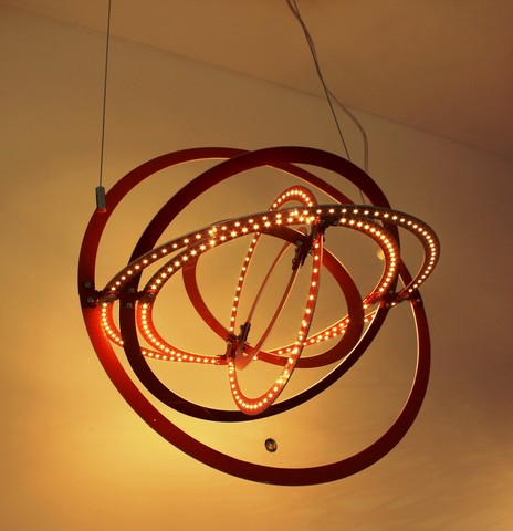 Pendant light Copernico LED 50 cm ( red ) by Artemide
