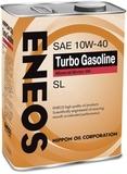 Eneos Turbo Gasoline SL 10W40 (4л) - Масло моторное минеральное